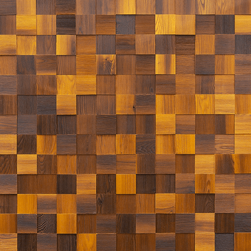 Cubetti Design | Wooden wallcovering | Autumn