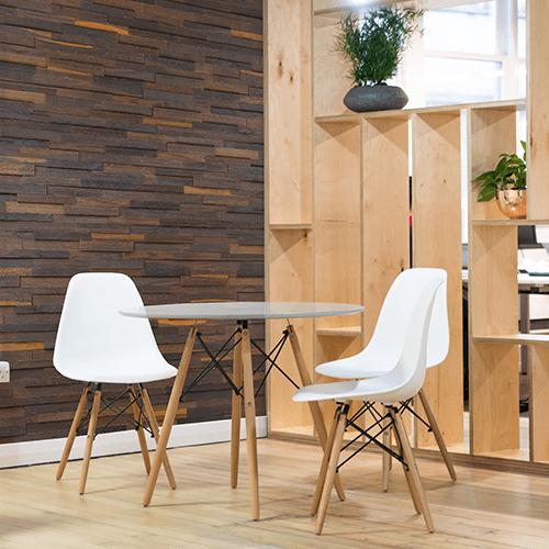 Cubetti Design | Wandverkleidung aus Holz | Elegance