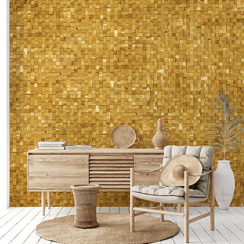 Cubetti Design | Wooden wallcovering | Essence