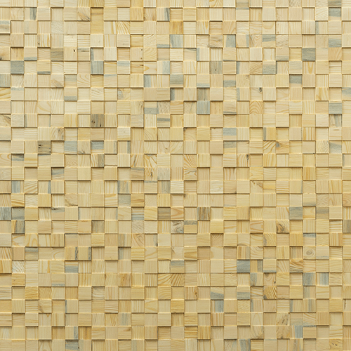 Cubetti Design | Wooden wallcovering | Summer