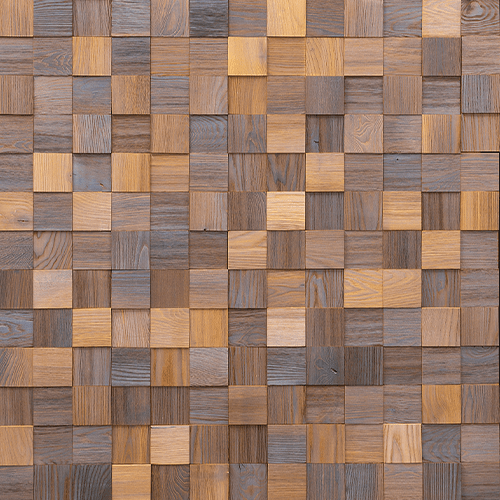 Cubetti Design | Wooden wallcovering | Graceful