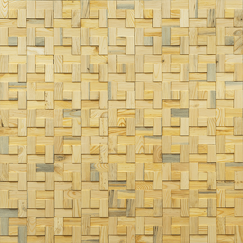 Cubetti Design | Wooden wallcovering | Sunlight