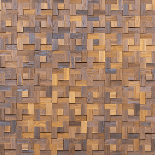 Cubetti Design | Wooden wallcovering | Spring