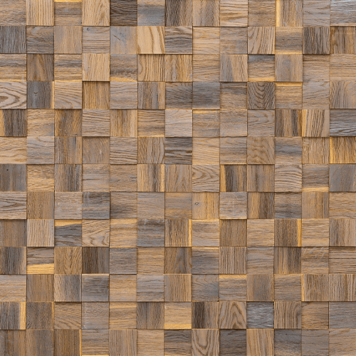Cubetti Design | Wooden wallcovering | Mystic