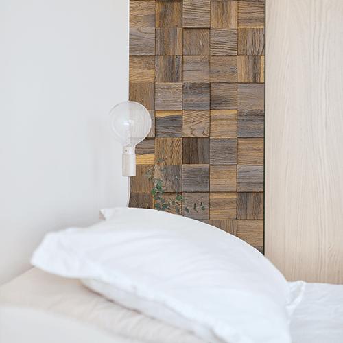Cubetti Design | Wooden wallcovering | Mystic
