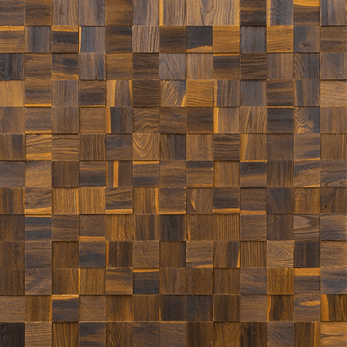 Cubetti Design | Wooden wallcovering | Nostalgia