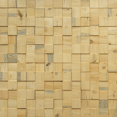 Cubetti Design | Wooden wallcovering | Pure