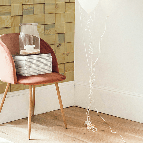 Cubetti Design   Wooden wallcovering   Pure