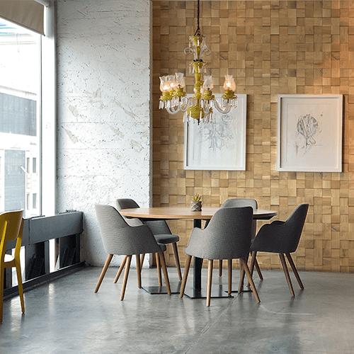 Cubetti Design   Wandverkleidung aus Holz   Stillness