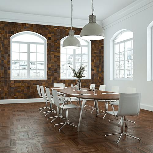 Cubetti Design | Wooden wallcovering | Nostalgia
